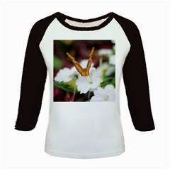 Butterfly 159 Women s Long Cap Sleeve T-Shirt