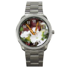 Butterfly 159 Sport Metal Watch