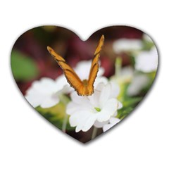 Butterfly 159 Mouse Pad (heart)