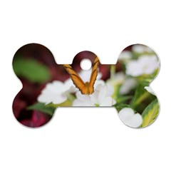 Butterfly 159 Dog Tag Bone (One Sided)