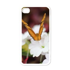Butterfly 159 Apple Iphone 4 Case (white)