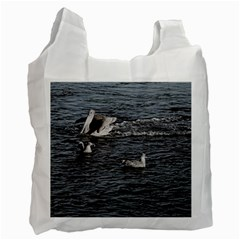 A Big Pelican Recycle Bag (Two Sides)