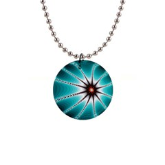 Starbright Fractal Button Necklace