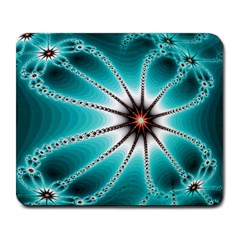 Starbright Fractal Large Mouse Pad (Rectangle)