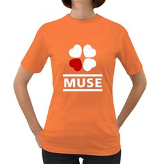 LOVE MUSE Fan Womens' T-shirt (Colored)