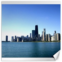 Chicago Skyline Canvas 16  X 16  (unframed)