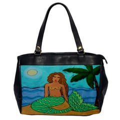 Lovely Mermaid Leather Like Handbag
