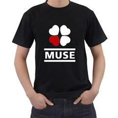 Love Muse Fan Mens' T-shirt (Black)