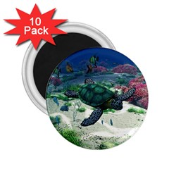 Sea Turtle 2.25  Magnet (10 pack)