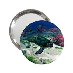 Sea Turtle 2.25  Handbag Mirror