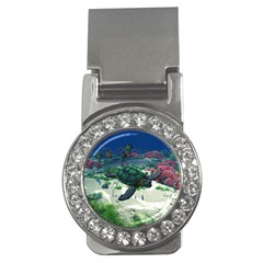 Sea Turtle Money Clip (CZ)