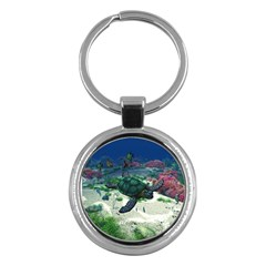 Sea Turtle Key Chain (Round)
