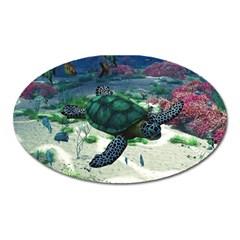 Sea Turtle Magnet (Oval)