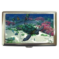 Sea Turtle Cigarette Money Case