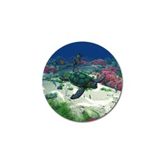 Sea Turtle Golf Ball Marker (4 Pack)