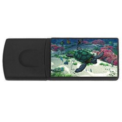Sea Turtle USB Flash Drive Rectangular (2 GB)