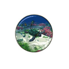 Sea Turtle Hat Clip Ball Marker (4 Pack)