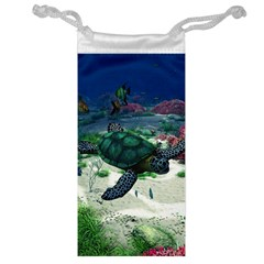 Sea Turtle Jewelry Bag