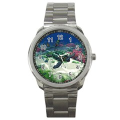 Sea Turtle Sport Metal Watch