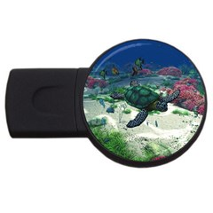 Sea Turtle USB Flash Drive Round (4 GB)