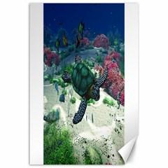 Sea Turtle Canvas 24  x 36