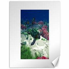 Sea Turtle Canvas 36  x 48