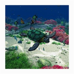Sea Turtle Glasses Cloth (medium)