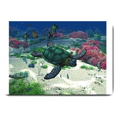 Sea Turtle Large Doormat