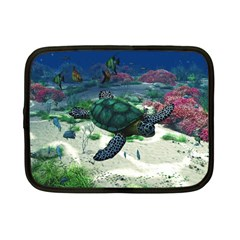 Sea Turtle Netbook Case (Small)