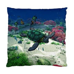 Sea Turtle Cushion Case (Two Sides)