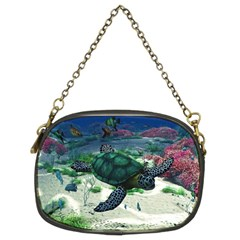 Sea Turtle Chain Purse (Two Sides)