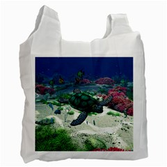 Sea Turtle Recycle Bag (Two Sides)