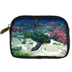 Sea Turtle Digital Camera Leather Case