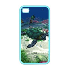 Sea Turtle Apple iPhone 4 Case (Color)