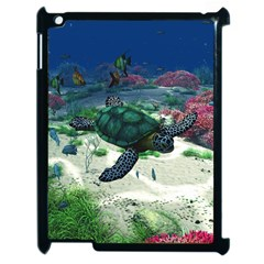 Sea Turtle Apple iPad 2 Case (Black)