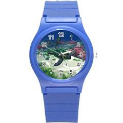 Sea Turtle Plastic Sport Watch (Small)