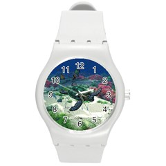 Sea Turtle Plastic Sport Watch (medium)