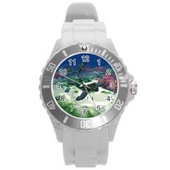 Sea Turtle Plastic Sport Watch (large)