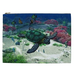 Sea Turtle Cosmetic Bag (XXL)