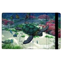 Sea Turtle Apple iPad 2 Flip Case