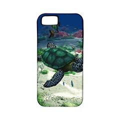 Sea Turtle Apple iPhone 5 Classic Hardshell Case (PC+Silicone)