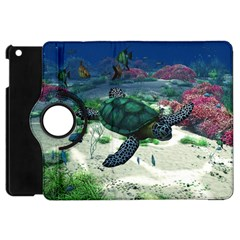 Sea Turtle Apple iPad Mini Flip 360 Case