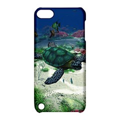 Sea Turtle Apple iPod Touch 5 Hardshell Case with Stand