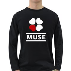 Love Muse Fan Mens' Long Sleeve T Shirt (dark Colored)