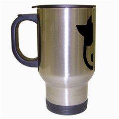 Cowcow  Travel Mug (silver Gray)