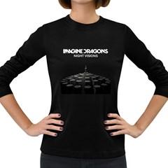 Imagine Dragons Night Visions Womens' Long Sleeve T-shirt (Dark Colored)