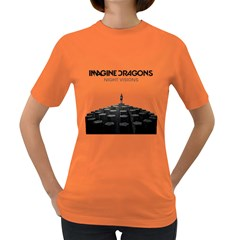 Imagine Dragons Night Visions  Womens' T Shirt (colored)