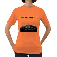 Imagine Dragons Night Visions  Womens' T-shirt (Colored)
