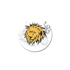 Lion Tattoo Golf Ball Marker (4 Pack)