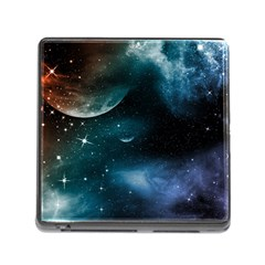 Universe Memory Card Reader With Storage (square)